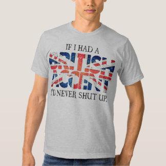 British Accent Tshirts