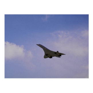 British Aerospace/Aerospatiale Concorde in flight, Postcard