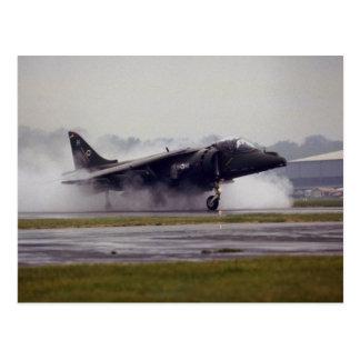 British Aerospace Harrier GR-7 from Wittering, Ess Postcard