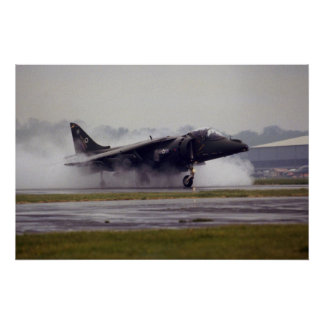 British Aerospace Harrier GR-7 from Wittering, Ess Print
