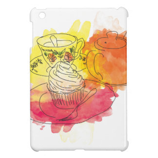 British Afternoon Tea Cover For The iPad Mini