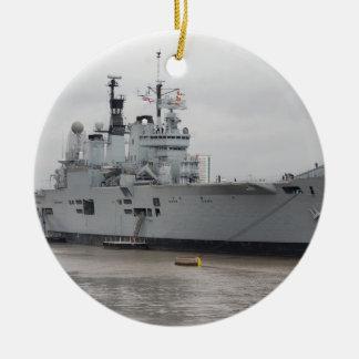 British Aircraft Carrier Ceramic Ornament