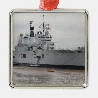 British Aircraft Carrier Metal Ornament