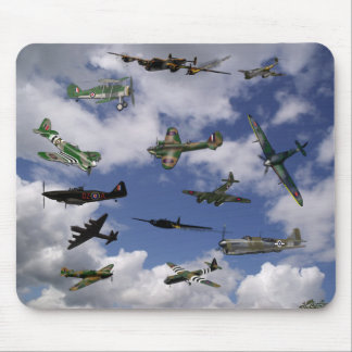 British Aircraft of WW2 Mouse Pad
