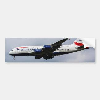 British Airways Airbus A380 Pegatina Para Auto
