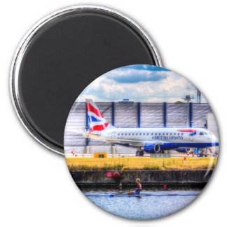 British Airways and Single Scull Refrigerator Magnet