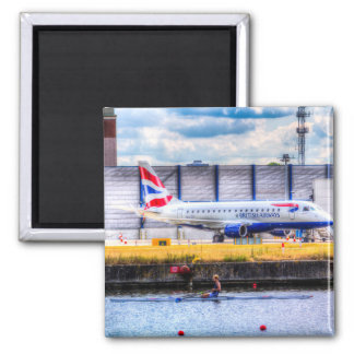 British Airways and Single Scull Refrigerator Magnets