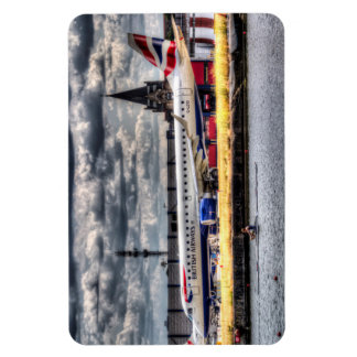 British Airways and Single Scull Rectangle Magnets