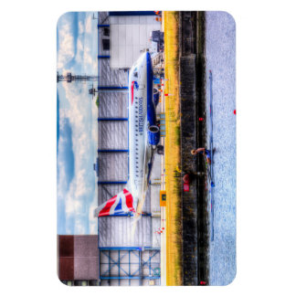 British Airways and Single Scull Vinyl Magnet