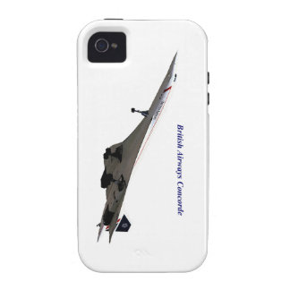 British Airways Concorde iPhone 4 Cover