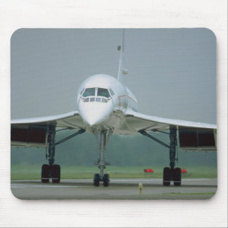 British Airways Concorde, on taxi way Mouse Pad