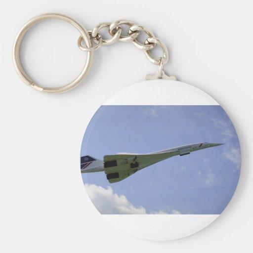British Airways Concorde, taking off at Heathrow A Key Chains