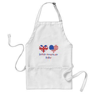 British American Baby Apron