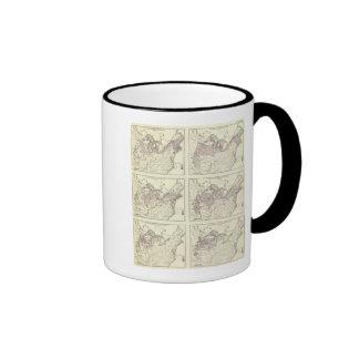 British American, English, Welsh, Swedish Ringer Coffee Mug