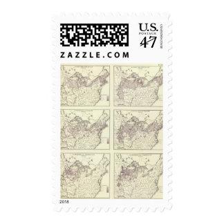 British American, English, Welsh, Swedish Postage