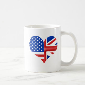 British American Heart Mug