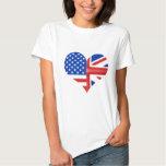 British American Heart Shirt