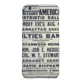 British-_American_Patriotic_Propaganda Poster Barely There iPhone 6 Case
