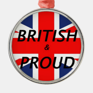 British and proud ornament