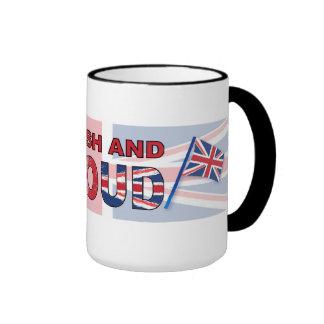 British and proud ringer mug