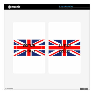 British and proud kindle fire skin