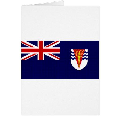 British Antarctic Territory Flag Card