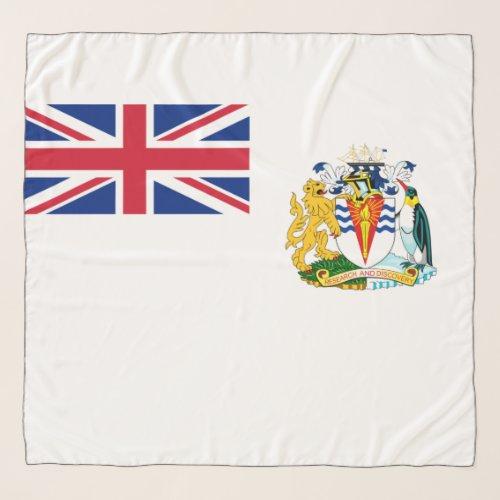 British Antarctic Territory flag Chiffon Scarf