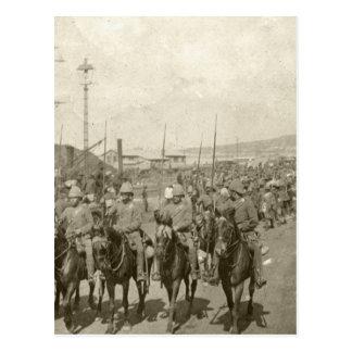 British army Boer War Post Card