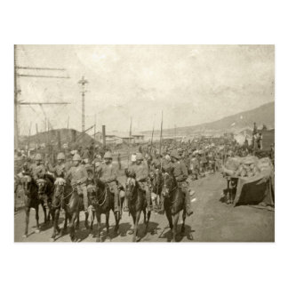 British army Boer War Postcard