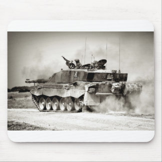 British Army Challenger 2 Main Battle Tank Mouse Pad