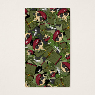 British Army Soldier Bookmark Business Card