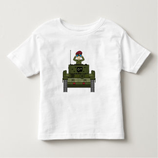 British Army Soldier in Tee