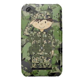 British Army Soldier iphone Case iPhone 3 Case-Mate Cases