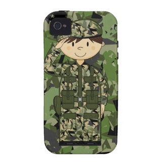 British Army Soldier iphone Case Vibe iPhone 4 Covers