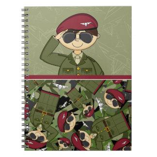 British Army Soldier Notebook
