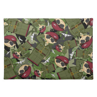 British Army Soldier Placemat