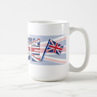 British babe coffee mug