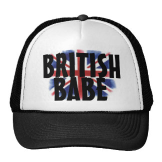 British Babe Snapback Trucker Hats