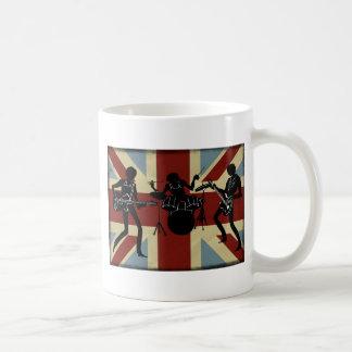 British Band, rock group, English trio Coffee Mug