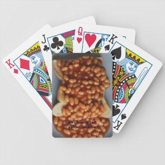 British Beans on Toast England Food Joke Cards UK