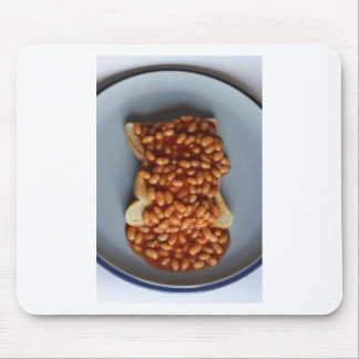 British Beans on Toast Food Joke Gift for Expat UK Mouse Pad
