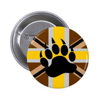 British Bear Pride Flag Button