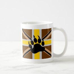 British Bear Pride Flag Coffee Mug