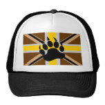 British Bear Pride Flag Hats