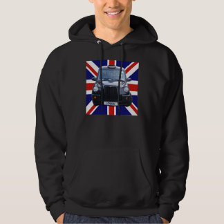 British Black Taxi Cab Hoodie