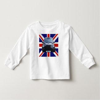 British Black Taxi Cab Toddler T-shirt