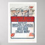 British Blood calls British Blood! (US02107) Poster