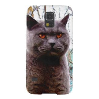 British Blue cat Case For Galaxy S5