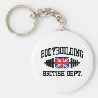 British Bodybuilder Key Chain