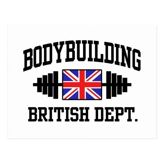 British Bodybuilder Postcard